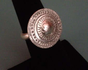 Handmade Sterling Silver Tribal Ring
