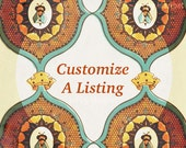 Customize a Listing!