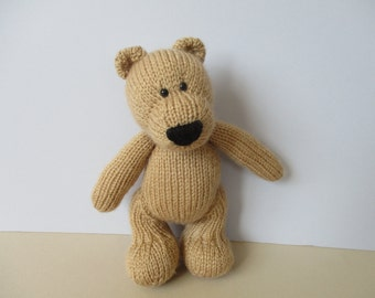 Eddie Bear toy knitting patterns
