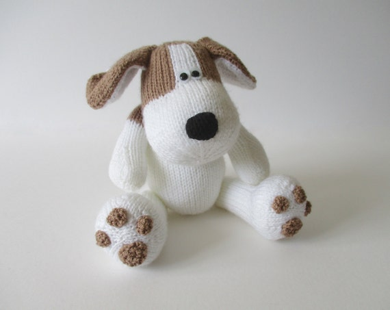 Knitting Patterns For Dogs Toys : Spot the Puppy toy knitting patterns