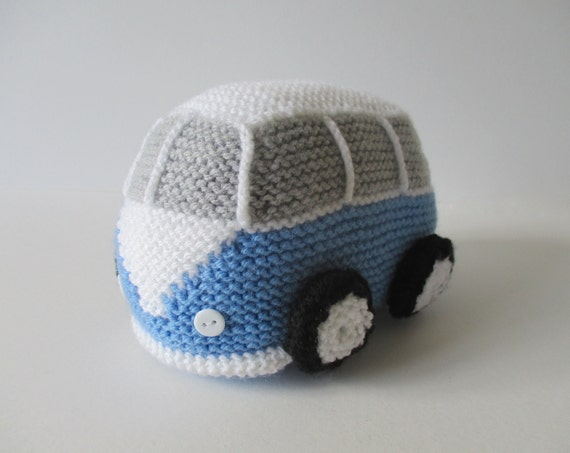 Vw Campervan Knitting Pattern : Camper Van toy knitting pattern