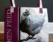 UNLINED Feed Sack Totes