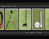 Custom Item for Melissa Bracero Father's Day GOLF By Dave Lynch