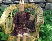 Primitive Doll Cat Set Catherine and Charlotte