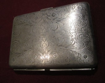 Very old cigarette case from USSR (CCCP) 1960s RARE !!!!.