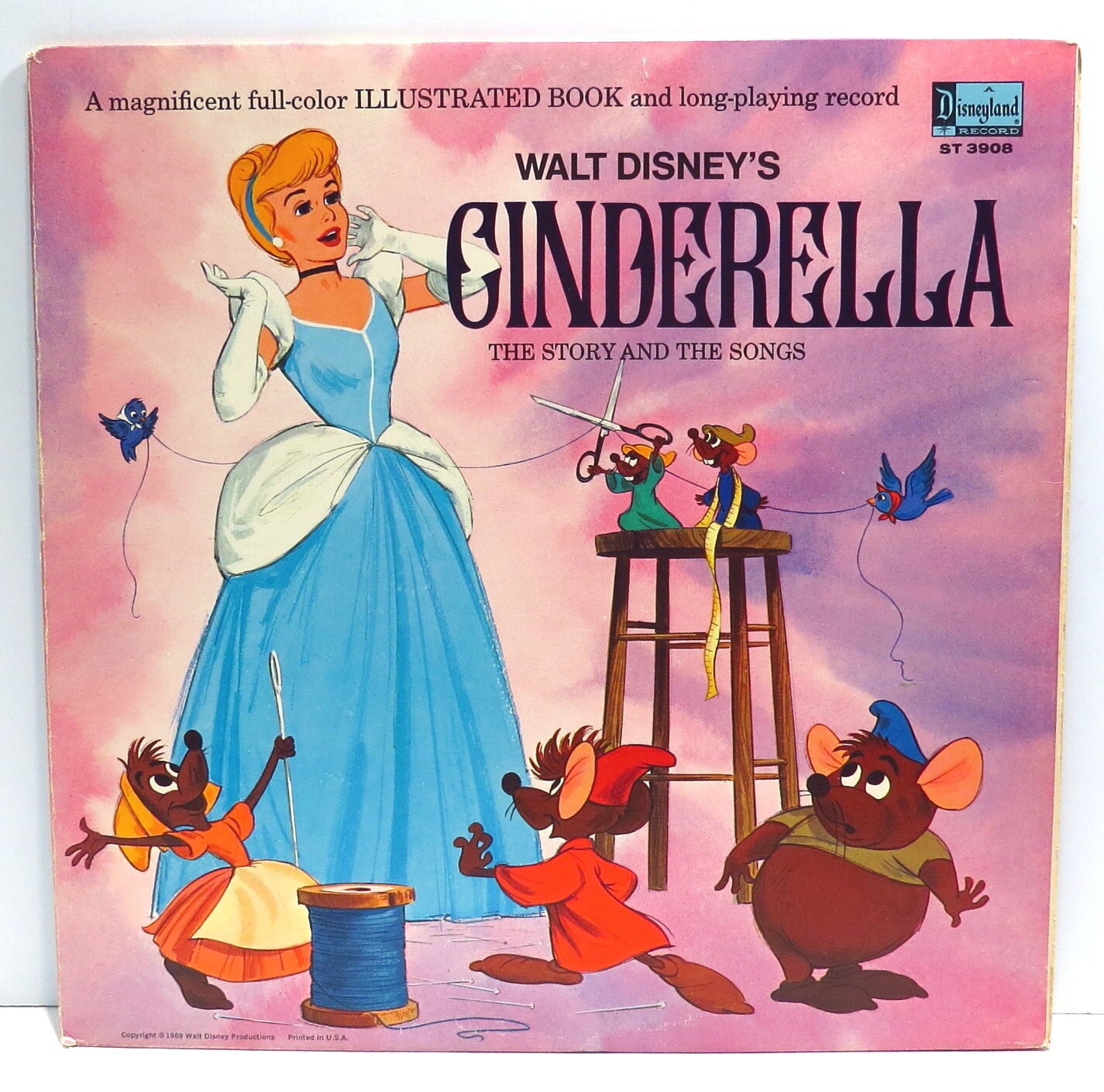 Cinderella 2 Album Cover Purse Custom Made Vintage Record