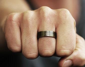 Nom bague bague personnalisée bijoux bague fabriquées à la main bague anneaux nom bijoux bague Initial chiffre romain estampillé bague Inspiration bague