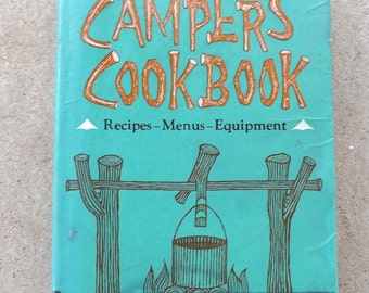 Campers Cookbook by Lucy G. Baup