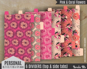 """PERSONAL planner dividers x 6 