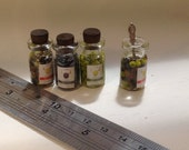 Dolls House Miniatures - 1/12th Jar of Olives x1