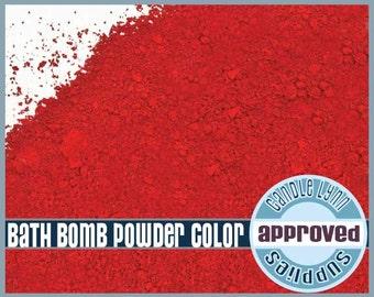 Bath Bomb Red Powder Color - 1/2 oz
