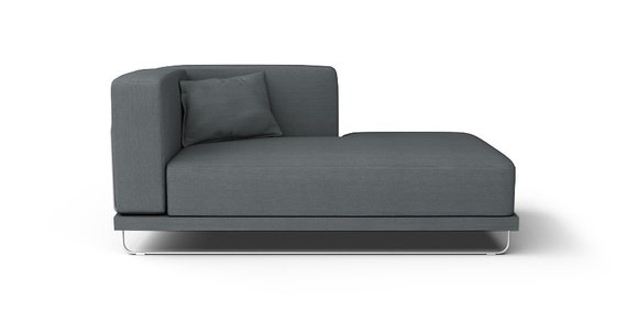 Ikea tylosand chaise lounge armrest on the left sofa for Daybed cushion ikea