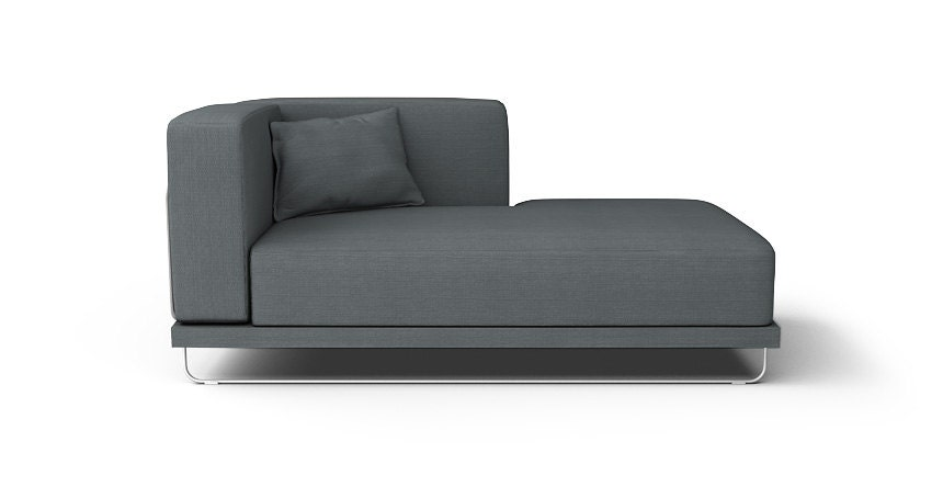 ikea tylosand chaise lounge accoudoir gauche canap housse. Black Bedroom Furniture Sets. Home Design Ideas