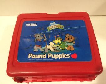 Pound Puppies Lunchbox