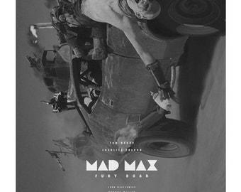 Mad Max Fury Road alternative movie poster
