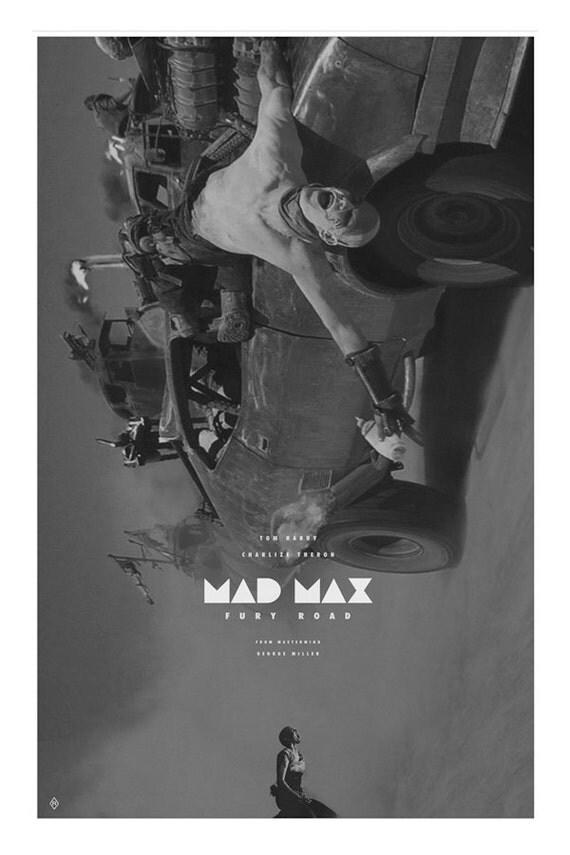 Mad Max Fury Road Movie Poster