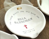 BAPTISM GIFT, christening gift,  godchild, earthenware,  naming dedication, family tradition, church blessing, custom, water bowl, RCIA