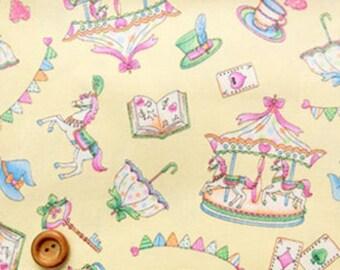 Merry-go-round Stripe Lolita  -ivory cream 50cm,
