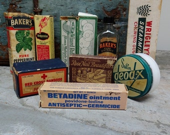Vintage Antique Household Ephemera
