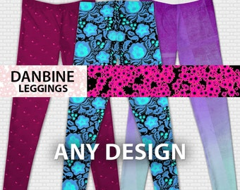 Custom Any Design Leggings *Made to Order* XS-XXL
