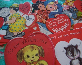 8 most adorable 50's valentines