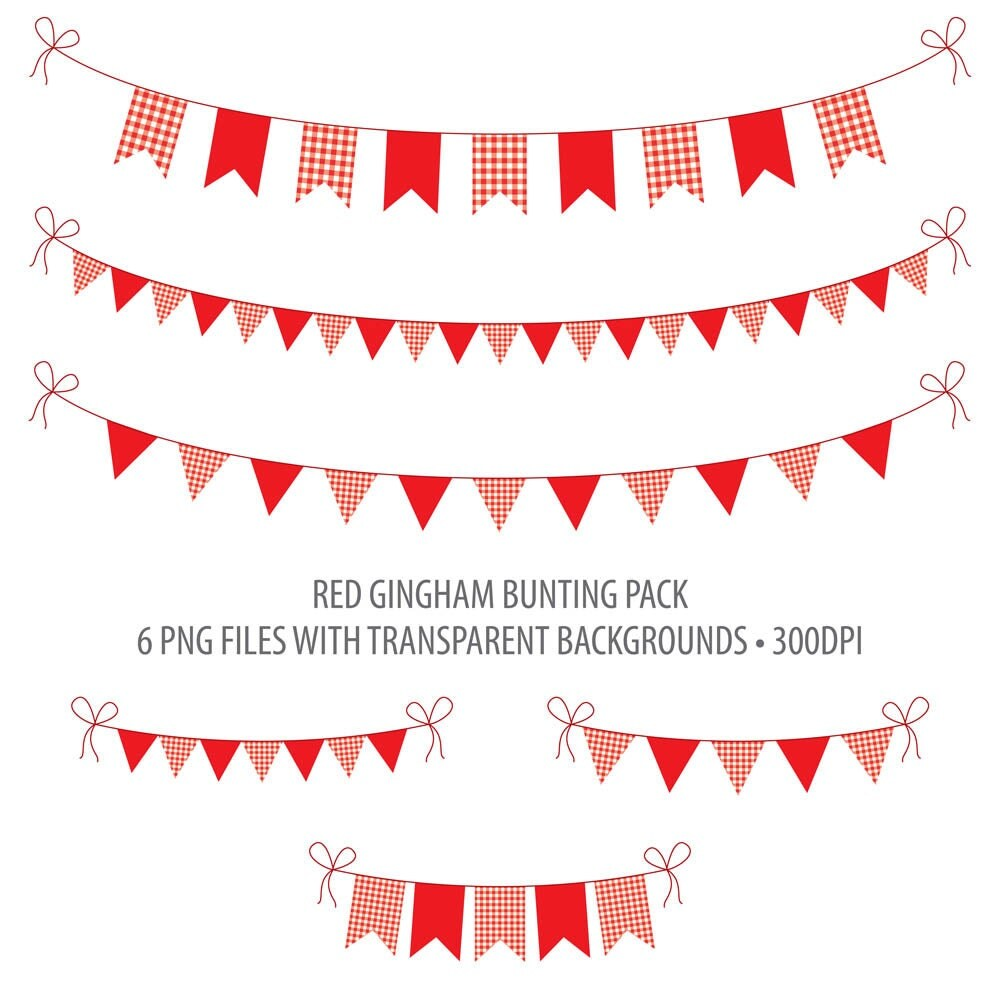 red bunting clip art red gingham instant download printable have a great summer clipart png Summer Fun Clip Art