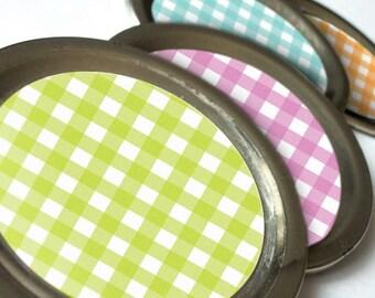 Cottage Chic Lattice canning jar labels, round stickers for fruit vegetable preservation, jam and jelly mason jar labels, jam jar labels