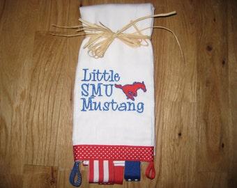 Mustang Burp Cloth