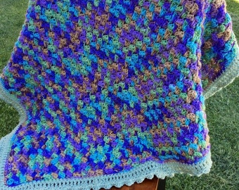 Crocheted Baby Afagan Quilt