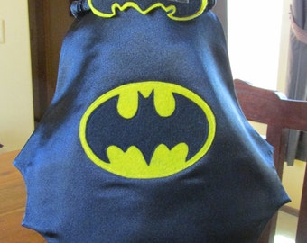 Newborn Photo Prop / Batman Cape and mask / Super hero prop / Photo Prop
