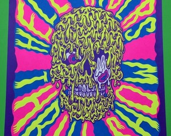 Hell Riders hand pulled screen print
