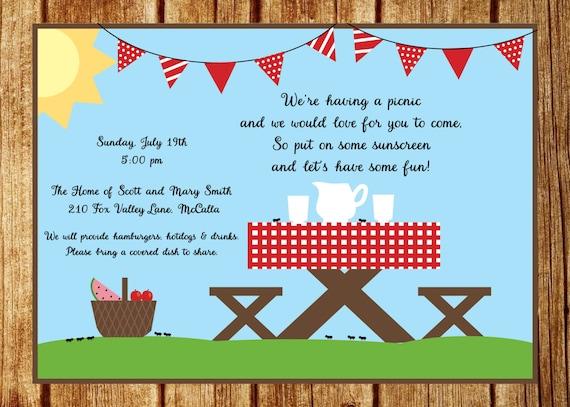 einladung sommer picknick einladung-sommer, Einladung