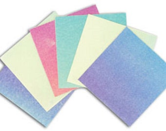 Dichro Slide Sample Set 6 Colors Dichroic Coated Paper Works With Any COE