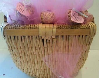 Pink Bird Seed Favors -- 50 count