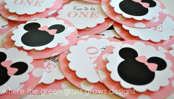 Minnie Mouse Circles
