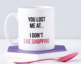 Personalised Shopaholic Mug