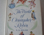 The World Of Christopher Robin, A.A. Milne illustrator E.H. Shepard 1958 Hardcover/dust jacket