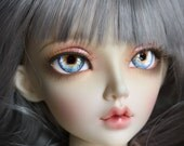 BJD eyes Doll eyes Hand made available in 12141618202224mm Forget Me Not made to order