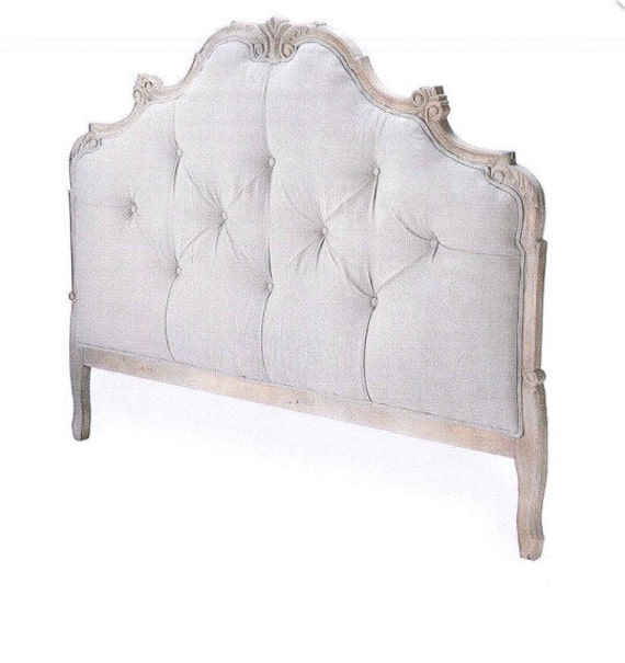 King French Provincial Tufted Headboard Crystal Rhinestone - Rhinestone Tufted Headboard - Rhinestones