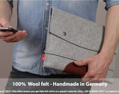 """15"""" MacBook PRO sleeve, Macbook pro case, MacBook pro cover, Macbook pro 15 leather, Hampshire LTS-GLB-PRO15"""
