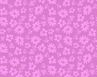 Petals in Purple Extravaganza Fabric - Half Yard
