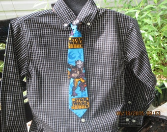 Star War Rebels Boys  Necktie