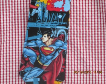 Adult  Superman Up and Away Adult necktie