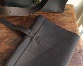 Vestry sketchbook, handmade leather journal, large sketchbook, refillable notebook, leather art journal, 8.5x11 diary by Aixa book maker