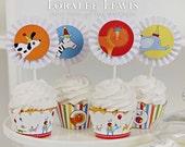 Animal Party Cupcake Kit by Loralee Lewis