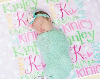 Personalized baby blanket- super soft