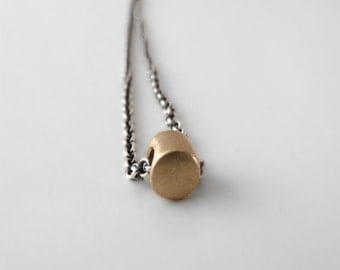 dot gold necklace gold dot necklace gold bead necklace gold layering necklace solid gold dot minimalist necklace modern necklace