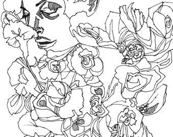 Poison Ivy 8x10 Premium Giclee Print
