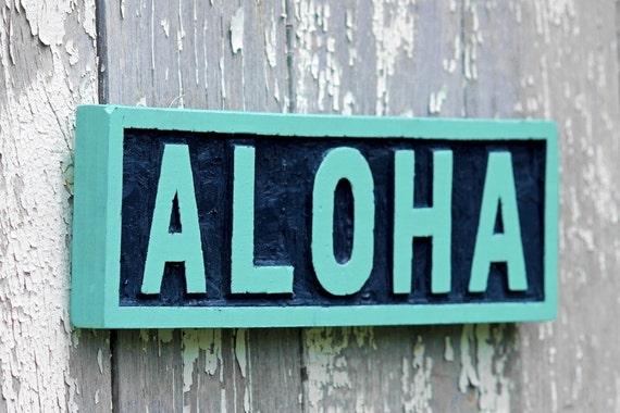 Aloha Wooden Sign   www.imgkid.com - The Image Kid Has It!