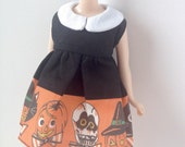Vintage Skull - A Dress For Blythe